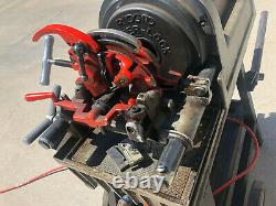 RIDGID 1822-I Power Threading Machine With Stand (LOCAL PICKUP ONLY DENVER)