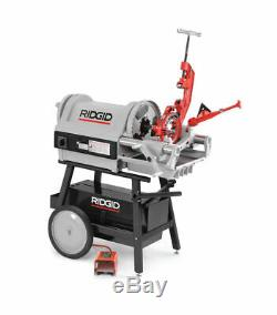 RIDGID 26092 Pipe Threading Machine, 1/4 to 4 In Stand not included