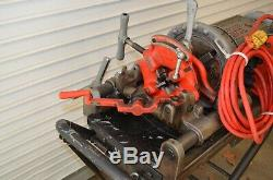 RIDGID 300 COMPACT PIPE THREADER THREADING MACHINE With STAND