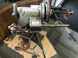 RIDGID 300 PIPE THREADING MACHINE 360 341 811a 2a/282 00-R 31A 34 38 BUNDLE