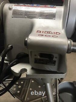 RIDGID 300 Pipe Threader, Threading Machine, 1224, 535, 700,141, Greenlee, Rigid