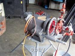 RIDGID 300 Power Drive Pipe Threading Machine With crrge and Stnd Reconditioned