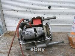 RIDGID 300 Power Drive Pipe Threading Machine with Foot Switch 1