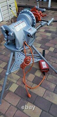 RIDGID 300 Power Pipe Threading Machine, SAVE