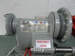 RIDGID 300 T2 PIPE THREADER MACHINE Two 811a Dies 1/2-2 Oiler 418, Transporter