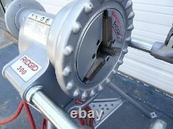 RIDGID 300 T2 Pipe Threader Threading Machine 1/2 3/4 Die #3 L@@K
