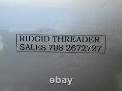 RIDGID 300 THREADER MACHINE Carriage cutter reamer 811 head