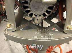 RIDGID 300, Universal Die Head, Tri Stand, Rigid, 1224, 535, NICE MACHINE