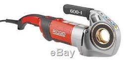 RIDGID 44918 Pipe Threading Machine, 1/2 to 1-1/4 In