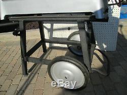 RIDGID 535 PIPE THREADER MACHINE two 811 head new150A Cart
