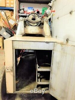 RIDGID 535 PIPE THREADER THREADING MACHINE With Tooling & Cart