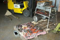 RIDGID 535 PIPE THREADER THREADING MACHINE with lots of tooling Loaded