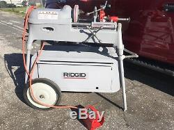 RIDGID 535 Pipe Threading Machine, Ridgid 300, 535, 1224