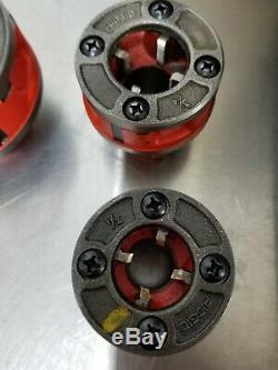 RIDGID 690-1 Hand Held Pipe Threading Machine Ridgid with Case