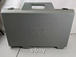 RIDGID 690 Power Drive Hand Held Pipe Threading Machine