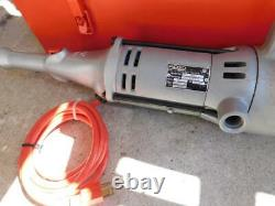 RIDGID 700 PIPE THREADER MACHINE With 6 DIEHEADS PLASTIC COATED PIPE 1/2 TO 2