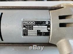 RIDGID 700 electric Pipe threader machine Power pony 141, 161 12r LIGHT USE