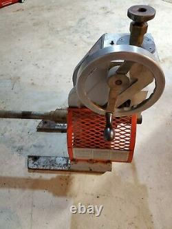 RIDGID 925 Roll Groove Attachment for Pipe Threading Machine