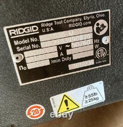 RIDGID 93287 Pipe Threading Machine 535, 1/8 to 2