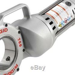 RIDGID Corded 115V Model 700 Power Drive Threading Machine Hand Held Aluminum