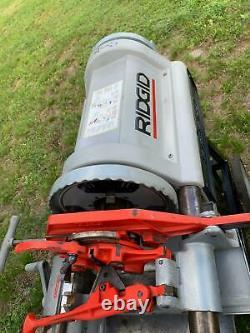 RIDGID Model 1224 1/2 inch 4 inch Pipe Threading Machine FREE SHIPPING