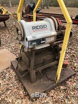 RIDGID Model 1224 1/2 inch 4 inch Power Pipe Threading Machine