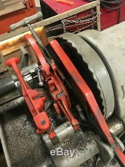 RIDGID Model 1224 1/2 inch 4 inch Power Threading Machine