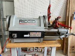 RIDGID Model 1224 Pipe Threader 1/4 inch 4 inch Power Threading Machine