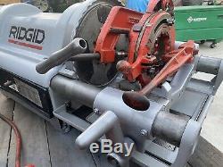 RIDGID Model 1224 Power Threading Machine 2-1/2 4