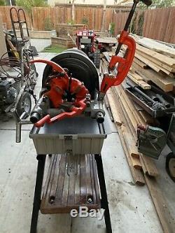 RIDGID Model 1822-I Power Threading Machine With Stand
