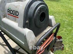 RIDGID Model 1822 Power Threading Machine With Stand