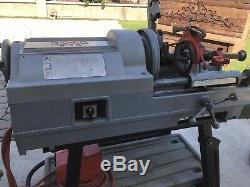RIDGID Model 535 Power Threading Machine With Stand