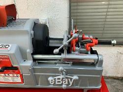 RIDGID Model 93287, 535 Series Threading Machine with Rothenberger Stand