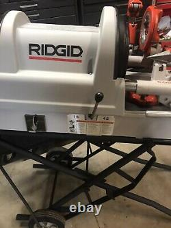RIDGID PORTABLE WHEELED 1822-I Auto-Chucking PIPE THREADER 300,535,1224