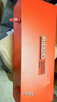 RIDGID Power Drive Portable Pipe Threading Machine, Bolt 1/4 in to 1 in