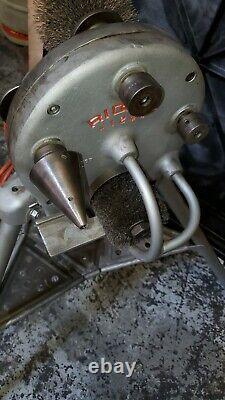 RIGID 124a PIPE CLEANER MACHINE