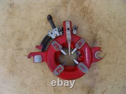 ROTHENBERGER 52500 Threading Machine Die Head 1/2 to 2. With 1-2 Dies