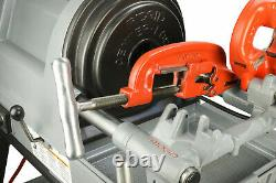 Reconditioned RIDGID 1822-I Auto Chuck Pipe Threading Machine and 150A Cart