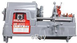 Reconditioned RIDGID 535 V3 Pipe Threading Machine Manual Chuck & Accessories