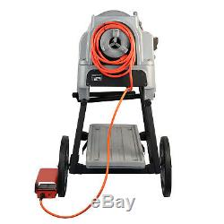 Reconditioned RIDGID 535 V3 Pipe Threading Machine with 150A Cart 811A Die Head