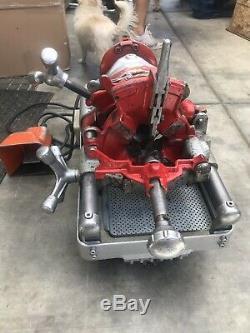 Rex Wheeler 6090 Pipe Threader Machine