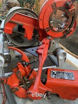 Ridgi 1224 Pipe Threader Machine