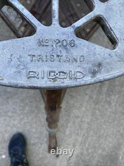 Ridgid 1206 Tristand for 300 Pipe Threader Threading Machine Stand