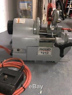 Ridgid 1210 Threading machine withfoot pedal Oiless machine