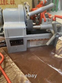 Ridgid 1215 Pipe Threader Machine