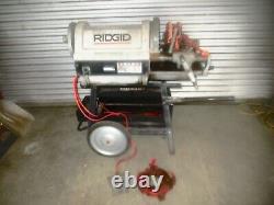 Ridgid 1224 1/2-4 Pipe Threading Machine