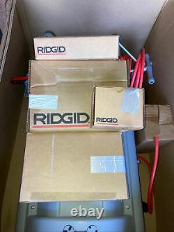 Ridgid 1224 Pipe Threader 1/2-4 NEW UNUSED 2 Die Heads