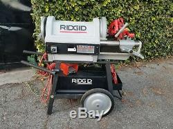 Ridgid 1224 Pipe Threader Threading Machine 1/2 4