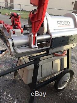Ridgid 1224 Pipe Threader Threading Machine 1/2 4, 300, 535, 1822