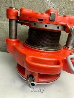 Ridgid 141 Pipe Threader 2-1/2-4 Threading Machine 700 300 535 1224 MINT